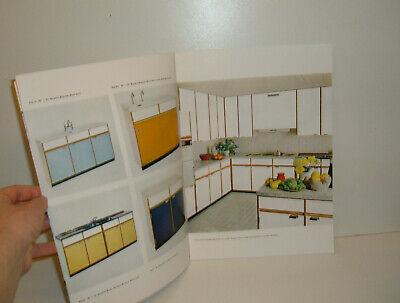 ** VINTAGE 1960s KITCHEN UNITS CATALOGUE WITH PRICES 10 PAGES ~ WRIGHTON **