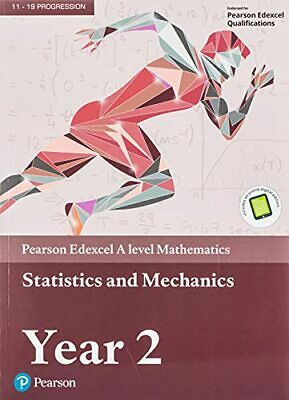 Edexcel A level Mathematics Statistics & Mechanics Year 2 Tex... by Smith, Harry