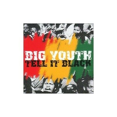 Big Youth - Tell It Black - Big Youth CD AAVG The Cheap Fast Free Post The Cheap