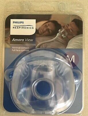 Philips Respironics Amara View CPAP Full Face Cushion Replacement M Medium NEW
