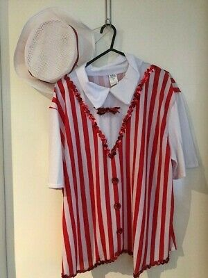 Mary poppins 12682 Large Adult Jolly Holiday Guy top w/ matching hat #eBayMarket
