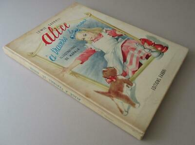 1961 ALICE THROUGH THE LOOKING GLASS MARAJA ILLUSTRATED French First Edition