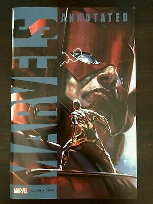 Marvels Annotated #3 2019 Marvel Dell'Otto variant Cover NM 9.4 Unread