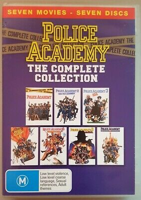 Police Academy - The Complete Collection (All 7 movies) DVD (Region 4)