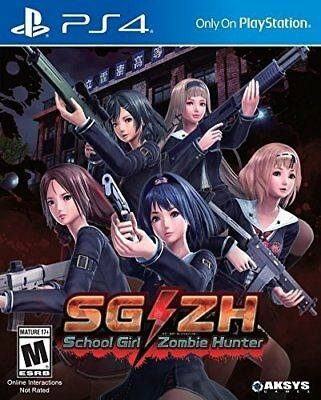 School Girl/Zombie Hunter (PS4) BRAND NEW SEALED PLAYSTATION 4