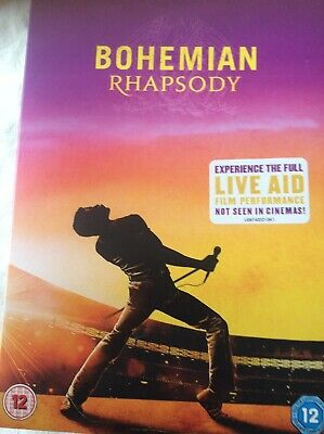 Bohemian Rhapsody [DVD] 2018 Region 2 with Special Features.