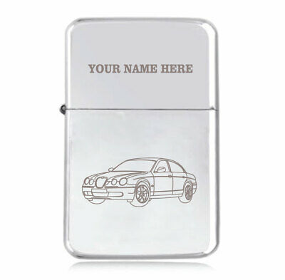 Personalised STAR Lighter in Black – S-Type Design