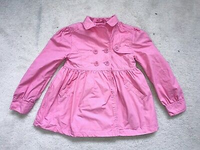 Girls Pink Light Weight Jacket Age 7-8 Years From H&M