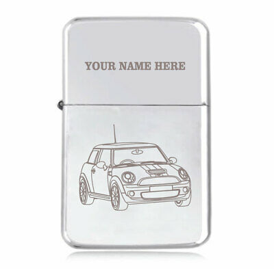 Personalised STAR Lighter in Black – Mini Cooper S Design
