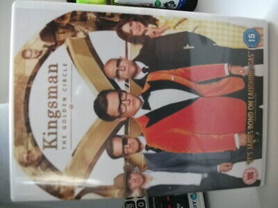 Kingsman The Golden Circle DVD - Colin Firth & Taron Egerton - FINAL LISTING