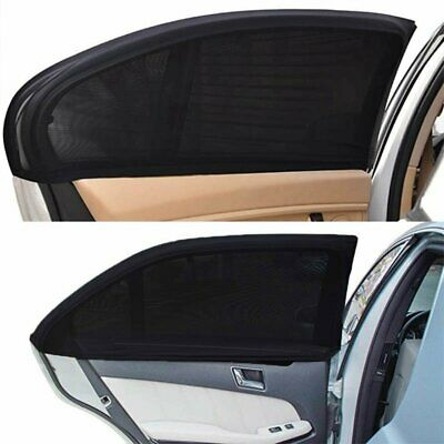 2 x Car Window Blind Sun Block Shade Shield Baby Child Visor Interior Protection