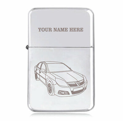Personalised STAR Lighter in Black – Vectra Design