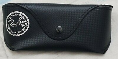 Ray Ban Tech Custodia Case Fodero Black Nero Medium Bag Carbon Astuccio Box