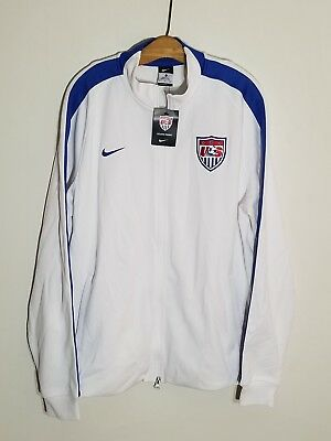 acc3971bd Nwt Authentic Nike N98 Us Soccer Team 2014 Track Jacket Mens Xl World Cup  Fifa