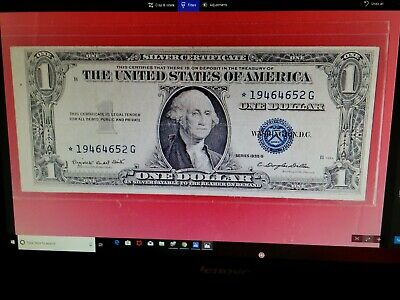 """CLEARANCE 1935 H $1 SILVER CERT,WITH MOTTO/""""IN GOD WE TRUST/"""" ON REVERSE,"""