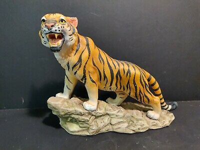 Bengal Tiger By Andrea Porcelain Animal Figurine Wild Life Wild Animal
