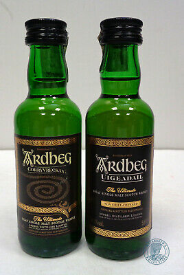 Miniature / Mignon Scotch Whisky ARDBEG - 2 Pezzi Diversi