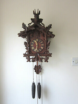 Superb Antique Black Forest Cuckoo Clock –Circa 1910