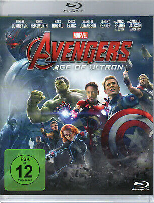 The Avengers Age Of Ultron - Blu-ray