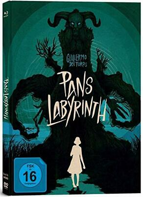 PANS LABYRINTH - 2 BLU RAY+DVD limited Mediabook  Edition (Guillermo Del Toro)