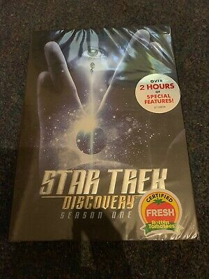 STAR TREK Discovery-Season One-4 disc DVD Set-Region 1 Brand New Sealed