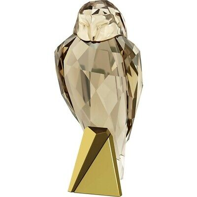 Swarovski Crystal Bronze Owl Bird 5279324 Brand New