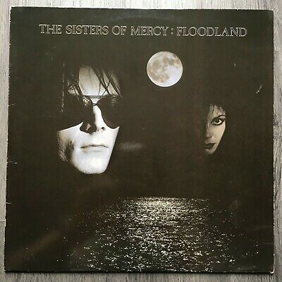 The Sisters of Mercy - Floodland LP on Merciful Stereo Goth Rock 1987 EX/EX