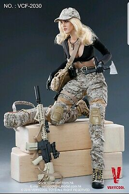 VERYCOOL Digital Camo Female Soldier Leather Belt VCF-2030 loose 1//6th scale