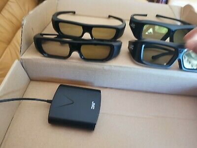 3d Emitter And Glasses for jvc projector