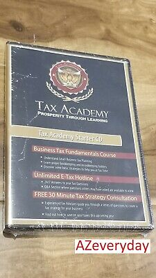 Tax Academy Starter CD, Educational Small Business Fundamentals Course - SEALED