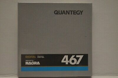 "NEW Quantegy Digital Master Audio Tape (#467) ¼"" x 2425' FACTORY SEALED"