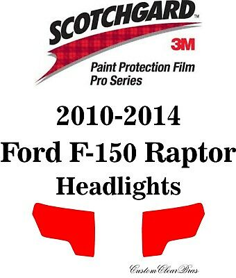 Headlight Protection Film by 3M for 2015-2018 Ford F-150 Halogen