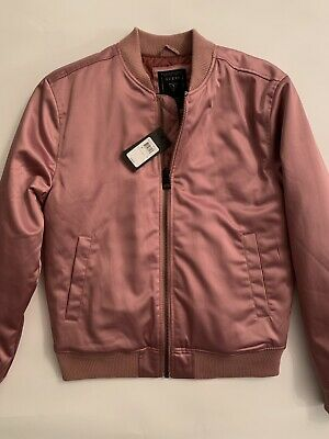 07c789818 GUESS SATIN BOMBER Jacket RED S - $40.00 | PicClick