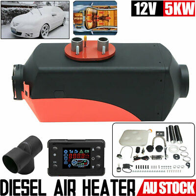 12V 5KW Diesel Air Heater Thermostat for Caravan Motorhome RV Trailer Truck Boat