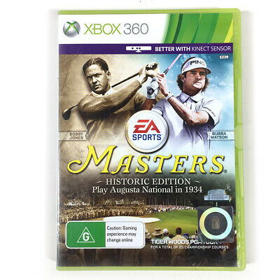 Masters Historic Edition Tiger Woods PGA Tour 14 Xbox 360 AU