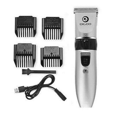 DG Men's Rechargeable Electric Cordless Hair Beard Clippers Trimmer Shaver Razor
