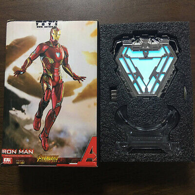 Avengers Endgame Licensed Iron Man Arc Reactor MK50 Mark L 1/1 Prop Replica 2019