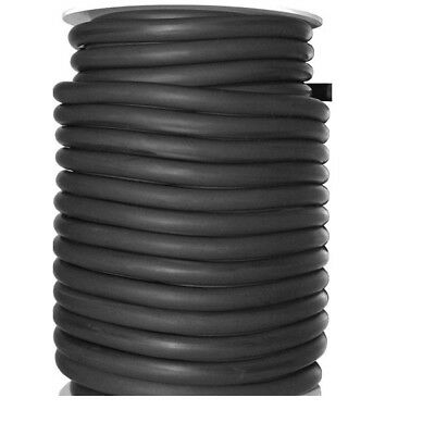 "Three Reels of 50 FEET OF 3/8"" I.D x 1/16' WALL LATEX RUBBER TUBING BLACK"
