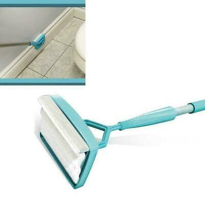 No-Bending Mop Kit for Cleaning Baseboards& Moldings New U3M1