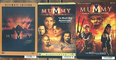 The Mummy Trilogy Mini Movie Poster Backer Cards Original COLLECTIBLE