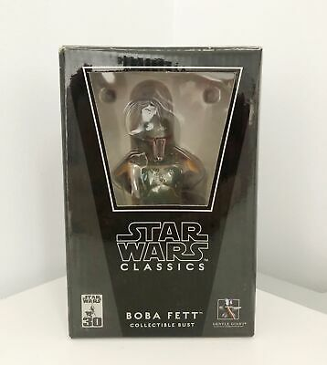 Star Wars Classics Boba Fett Collectibles Bust by Gentle Giant