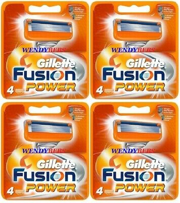 100% Original Gillette Fusion Power Lames de Rasoir Shaving Razors Blades