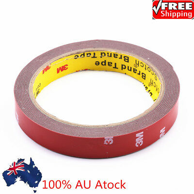 3M Strong Permanent Double Sided Super Sticky Versatile Roll Tape 10/15/20mm AU