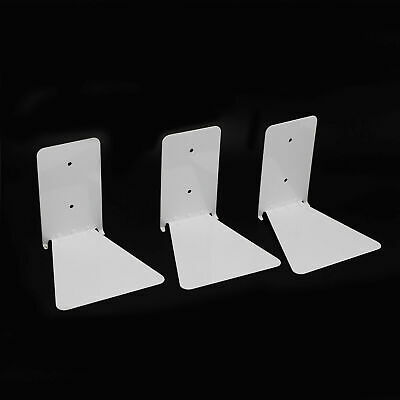3pcs Invisible Bookshelf Wall Mounted Floating Book Shelf Shelves Storage