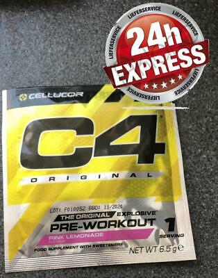 Cellucor C4, 208g, 32 Portionen in Beutel / Pink Lemonade