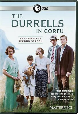 The Durrells Season 2 Two Complete Collection DVD Box Set Second TV Series New