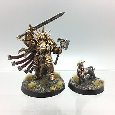 Warhammer Age Of Sigmar Stormcast Eternals Lord Celestant Gryph Hound Painted