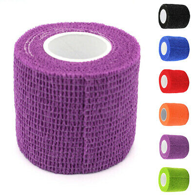 UK Sports Health Care Medical Elastic Cohesive Bandage Tape First Aid Strap Band