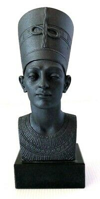 Egyptian Nefertiti Figurine 1991 Signed A. Giannelli Made In Italy 19cm