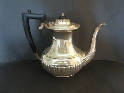 Antique Silver Plate 2.5 Pint Ornate Tea Coffee Pot EPNS 3 Available